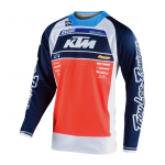 Troy Lee Designs Cross Shirt 2020S SE Pro Boldor Team - Oranje / Navy
