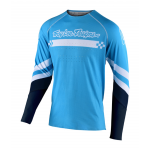 Troy Lee Designs Cross Shirt 2020S SE Ultra Factory - Ocean / Navy