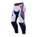 Troy Lee Designs Crossbroek 2019F SE AIR Seca - Wit / Donker Navy