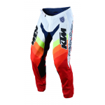 Troy Lee Designs Crossbroek 2019F SE Pro Mirage KTM - Wit / Rood
