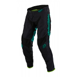 Troy Lee Designs Crossbroek 2020F GP AIR Drift - Zwart / Turquoise