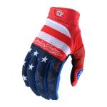 Troy Lee Designs Crosshandschoenen 2021S AIR Stars Stripes - Rood / Blauw