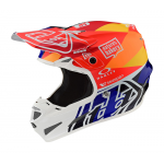 Troy Lee Designs Crosshelm 2019F SE4 Composite Jet - Oranje / Navy