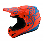 Troy Lee Designs Crosshelm 2021S GP Sillhouette - Oranje / Cyan