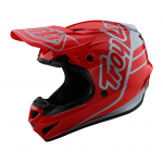 Troy Lee Designs Crosshelm 2021S GP Sillhouette - Rood / Zilver