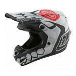 Troy Lee Designs Crosshelm 2021S SE4 Polyacrylite Skully - Wit