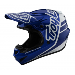 Troy Lee Designs Crosshelm 2020S GP Sillhouette - Navy / Wit