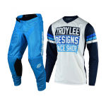 Troy Lee Designs Crosskleding 2019F GP AIR Carlsbad - Wit / Navy