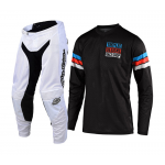 Troy Lee Designs Crosskleding 2019F GP AIR Saddleback - Zwart / Cyan