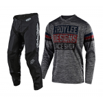 Troy Lee Designs Crosskleding 2019F GP Elsinore - Heather Grijs / Navy