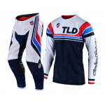 Troy Lee Designs Crosskleding 2019F SE AIR Seca - Wit / Donker Navy
