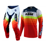 Troy Lee Designs Crosskleding 2019F SE Pro Mirage KTM - Wit / Rood
