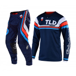 Troy Lee Designs Crosskleding 2019F SE Seca - Donker Navy / Oranje