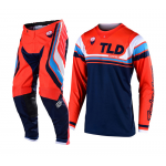 Troy Lee Designs Crosskleding 2019F SE Seca - Oranje / Donker Navy