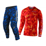 Troy Lee Designs Crosskleding 2021S GP AIR Confetti - Oranje