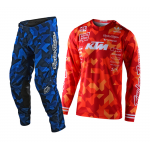 Troy Lee Designs Crosskleding 2021S GP AIR Confetti Team - Oranje