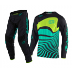 Troy Lee Designs Crosskleding 2020F GP AIR Drift - Zwart / Turquoise