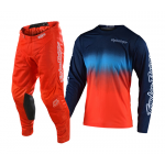 Troy Lee Designs Crosskleding 2020F GP AIR STAIN'D - Navy / Oranje