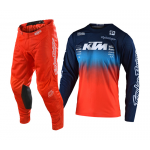 Troy Lee Designs Crosskleding 2020F GP AIR STAIN'D Team - Navy / Oranje