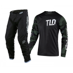 Troy Lee Designs Crosskleding 2020F GP Camo - Groen / Zwart