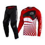 Troy Lee Designs Crosskleding 2021S GP Pinstripe - Drift - Rood / Zwart