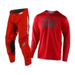 Troy Lee Designs Crosskleding 2021S GP Pinstripe - Rood / Grijs