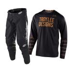 Troy Lee Designs Crosskleding 2021S GP Pinstripe - Zwart / Goud