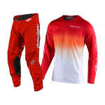 Troy Lee Designs Crosskleding 2020F GP STAIN'D - Rood / Wit