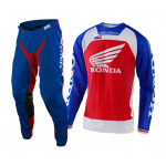 Troy Lee Designs Crosskleding 2020F SE Pro AIR Boldor Honda - Blauw / Rood