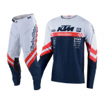 Troy Lee Designs Crosskleding 2020F SE Ultra Factory Team - Wit / Navy