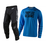 Troy Lee Designs Crosskleding 2020S GP AIR Pinstripe - Ocean / Zwart