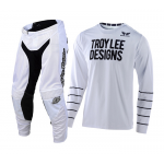 Troy Lee Designs Crosskleding 2020S GP AIR Pinstripe - Wit / Zwart