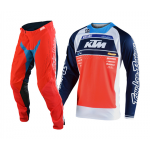 Troy Lee Designs Crosskleding 2020S SE Pro Boldor Team - Oranje / Navy