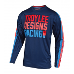 Troy Lee Designs Kinder Cross Shirt 2019F GP AIR Pre-Mix 86 - Navy
