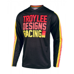 Troy Lee Designs Kinder Cross Shirt 2019F GP Pre-Mix 86 - Zwart / Geel