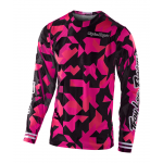 Troy Lee Designs Kinder Cross Shirt 2021S GP AIR Confetti - Roze