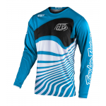 Troy Lee Designs Kinder Cross Shirt 2021S GP Drift - Ocean / Wit