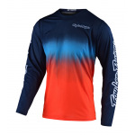 Troy Lee Designs Kinder Cross Shirt 2021S GP STAIND'D - Navy / Oranje
