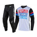 Troy Lee Designs Kinder Crosskleding 2019F GP Carlsbad - Wit / Zwart