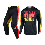 Troy Lee Designs Kinder Crosskleding 2019F GP Pre-Mix 86 - Zwart / Geel