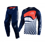 Troy Lee Designs Kinder Crosskleding 2021S GP Drift - Navy / Oranje