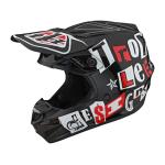Troy Lee Designs Crosshelm 2021F GP Anarchy - Zwart