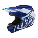 Troy Lee Designs Crosshelm 2021F GP Overload - Blauw / Wit