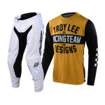 Troy Lee Designs Crosskleding 2021F GP Air Team 81 - Geel / Zwart
