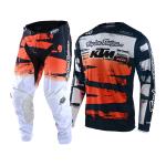 Troy Lee Designs Crosskleding 2021F GP Brushed Team - Navy / Oranje