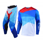 Troy Lee Designs Crosskleding 2019 GP AIR Jet - Wit / Blauw