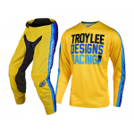 Troy Lee Designs Crosskleding 2019 GP Premix 86 - Geel