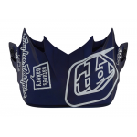 Troy Lee Designs Helmklep 2019 SE4 Composite Unite - Wit / Navy