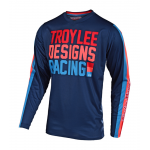 Troy Lee Designs Kinder Cross Shirt 2019 GP AIR Premix 86 - Navy