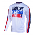 Troy Lee Designs Kinder Cross Shirt 2019 GP AIR Premix 86 - Wit